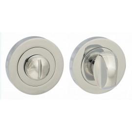 Polished Chrome Bathroom Thumb Turn (51mm)