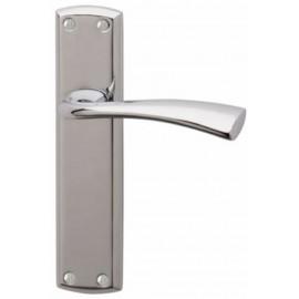 Grosvenor Door Handles in Polished Chrome