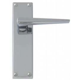 Contemporary Polished Chrome Door Handles