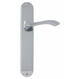 Regent long plate lever door handles