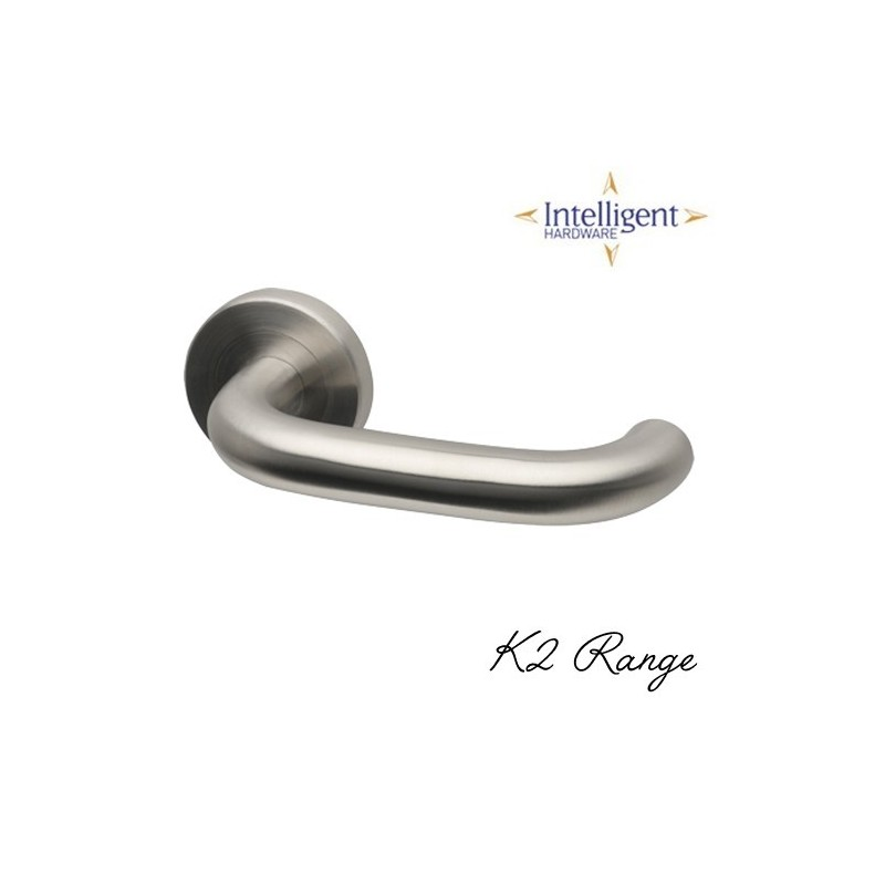 K2 Polished Stainless Steel Door Handles