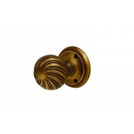 Bronze Swirl Mortice Knob Furniture