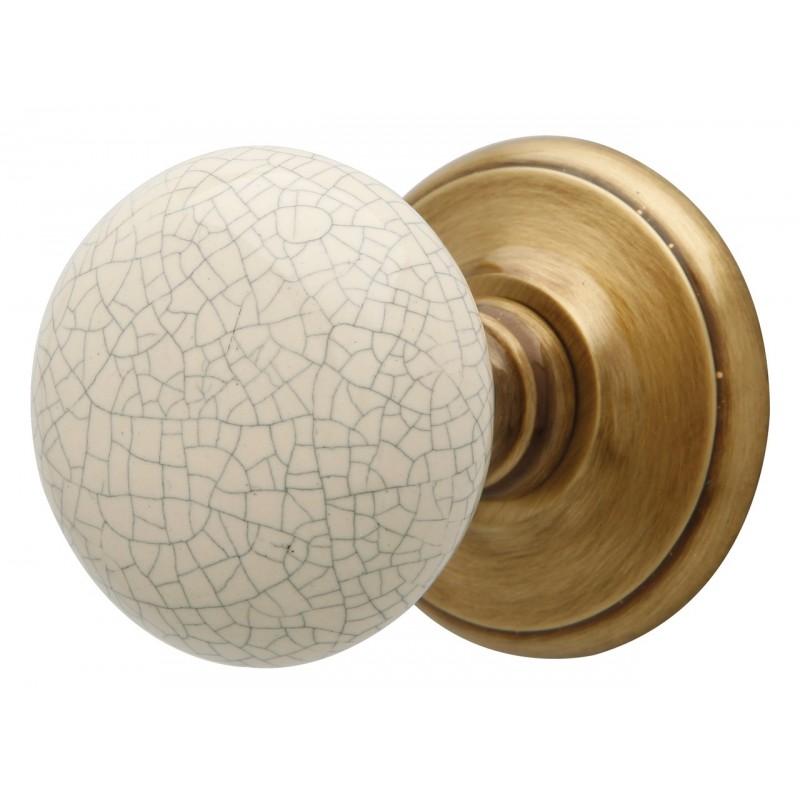 Bronze Crackle Mortice Knob Furniture
