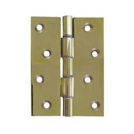 A Pair of Double Phosphor Bronze Washered Butt Hinges