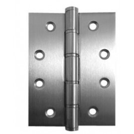 A Pair of Stainless Steel Washered Butt Hinges CE Marked Grade 7