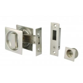 Square Sliding Door Bathroom Hook Lock Set