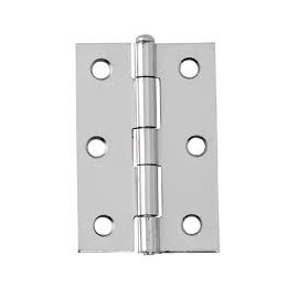 Steel loose pin butt hinges. 75mm.