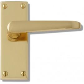 Victorian lever door handles