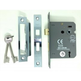 CE rated 3 lever Sash lock