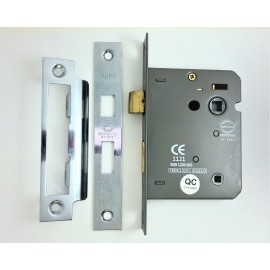 CE rated 3 lever Bathroom lock