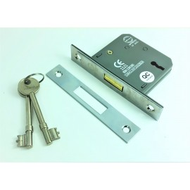 CE rated 3 lever dead lock