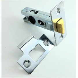 Bolt through tubular latches