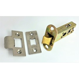 Heavy Duty Double sprung bolt through tubular latch