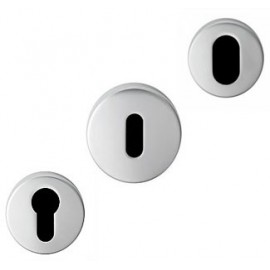 Aluminium Keyhole Escutcheons
