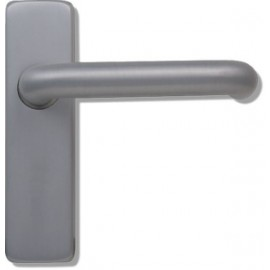 Sheringham SAA Door Levers on Concealed Backplate.