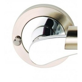 Ultimo Designer Lever Door Handles on Square Rose
