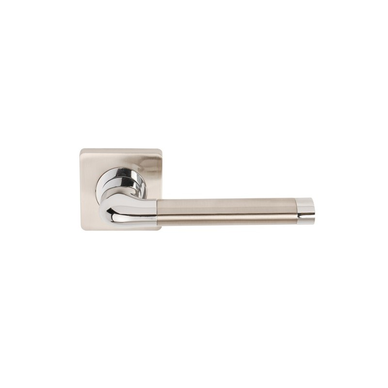Argo Designer Lever Door Handles on Square Rose