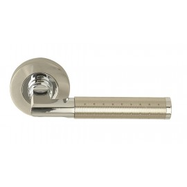 Aura Door Handles on 53mm Round Rose