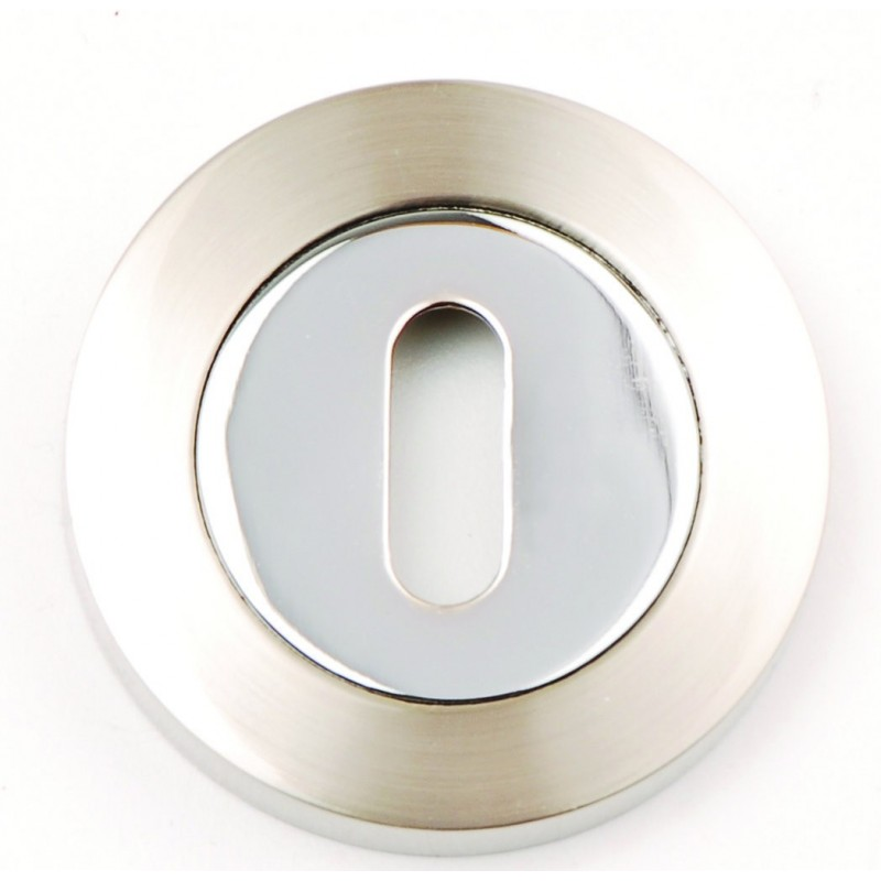 Keyhole Escution on a Round Rose 53mm