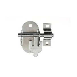 Oval Brenton Shed/Gate Padlock Bolt