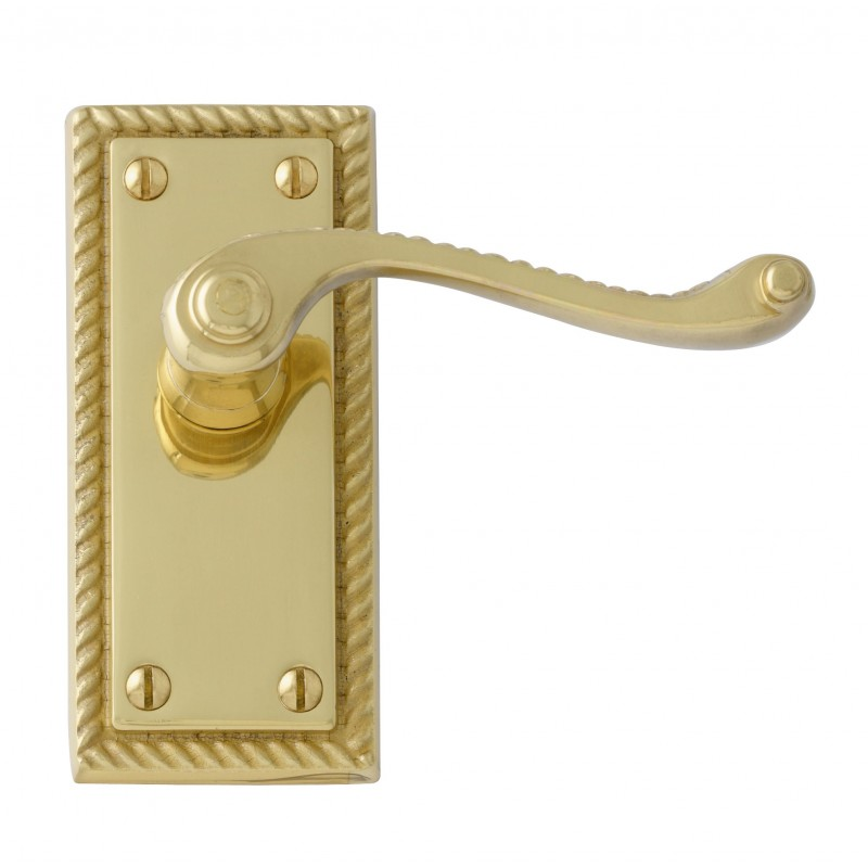 Interior Door Handles Georgian Polished Brass Internal Door Handles Uk