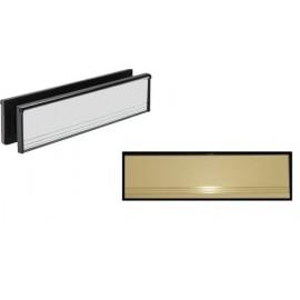 Sleeved Letterplates for UPVC Doors