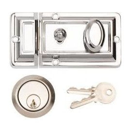 Traditional Cylinder Night Latch