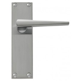 Contemporary Lever Door Handles (Satin Chrome)
