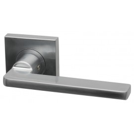 Gemini Designer Lever Door Handles on Square Rose