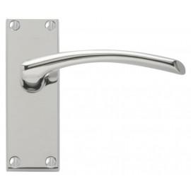 Roma Polished Chrome Door Handles