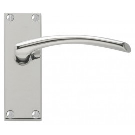 Roma Polished Chrome Door Handles