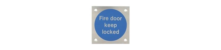 UK Door Handles-Door signs