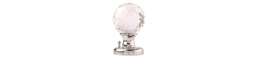 Glass Door Knobs | Fulton and Bray | Crystal Door Knob